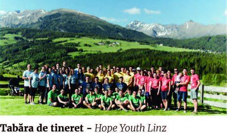 Tabăra de tineret – Hope Youth Linz